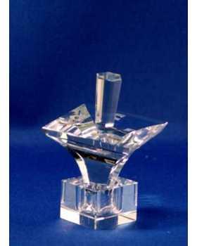 Optic Crystal Dreidel