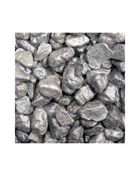 Silver Chocolate Rock Pebbles