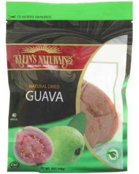 Klein's Naturals Natural Dried Guava (Pack of 6)