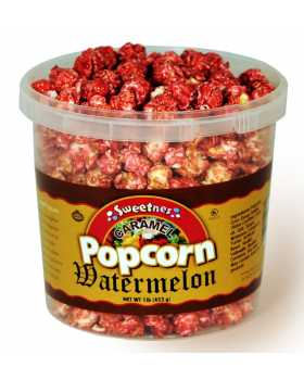 Watermelon Caramel Popcorn-16 oz.