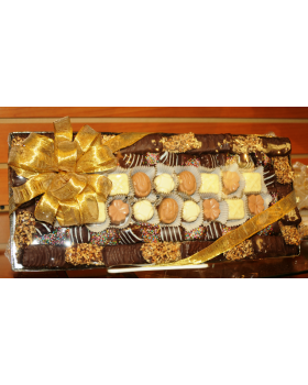 Mirrored Chocolate Tray