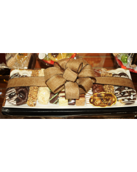 Silver Trim Gift Chocolate Tray